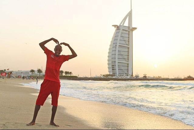 Мо Фарах пробежка в Дубае