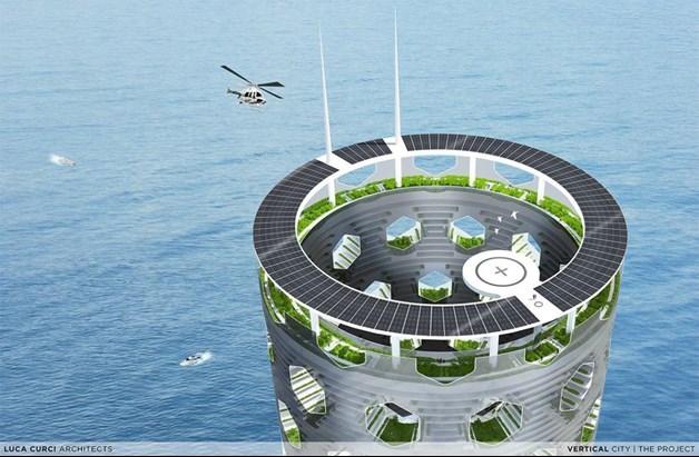 Vertical Industrial City