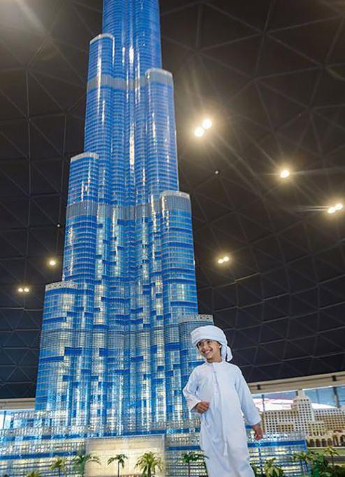 LEGO model of Dubai's Burj Khalifa is a record breaker | The