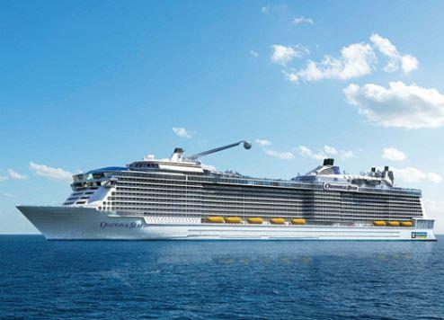 Mega cruise ship docks in Dubai | The First Group
